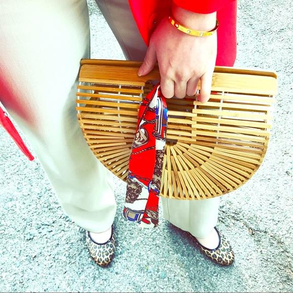 e35503dd61 Spring 2029 Iconic bamboo basket bag